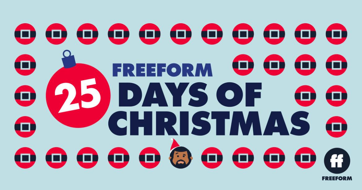 Freeform's '25 Days of Christmas' Schedule for 2020