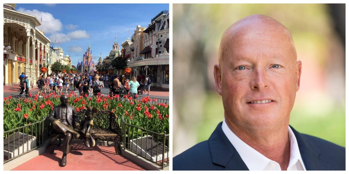 Bob Chapek Says the Walt Disney World Theme Parks are Only Operating at 25% Capacity