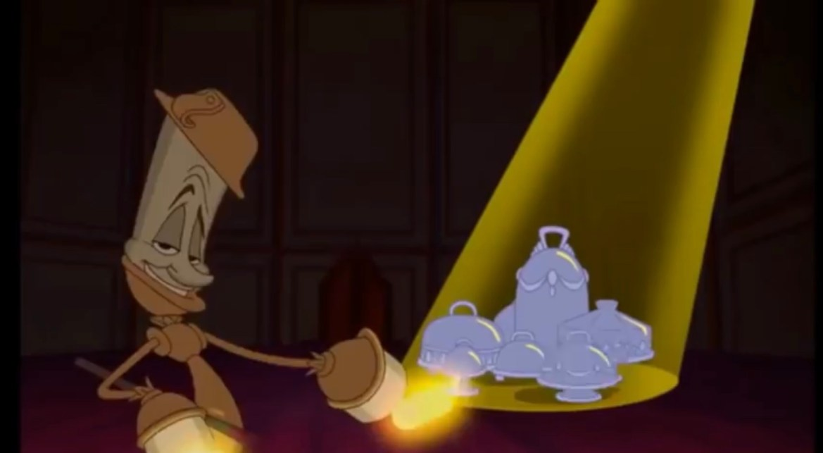 Beauty and the Beast says Wear a Mask in this parody video