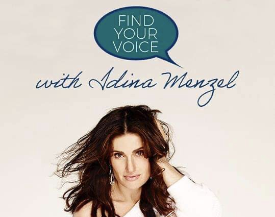 Win a Private Singing Lesson with Disney Legend Idina Menzel