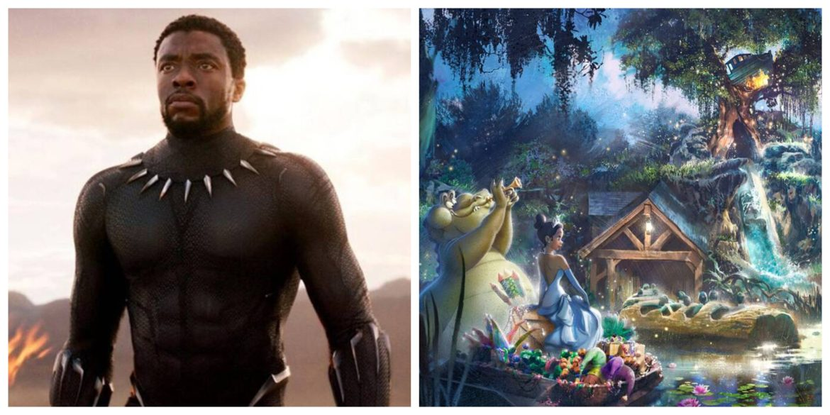 Fans ask Disney to Redesign Splash Mountain to Black Panther in honor of Chadwick Boseman
