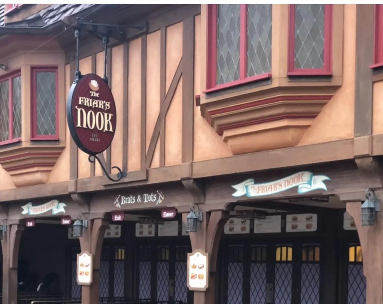 The Friar's Nook Reopens in Fantasyland at the Magic Kingdom