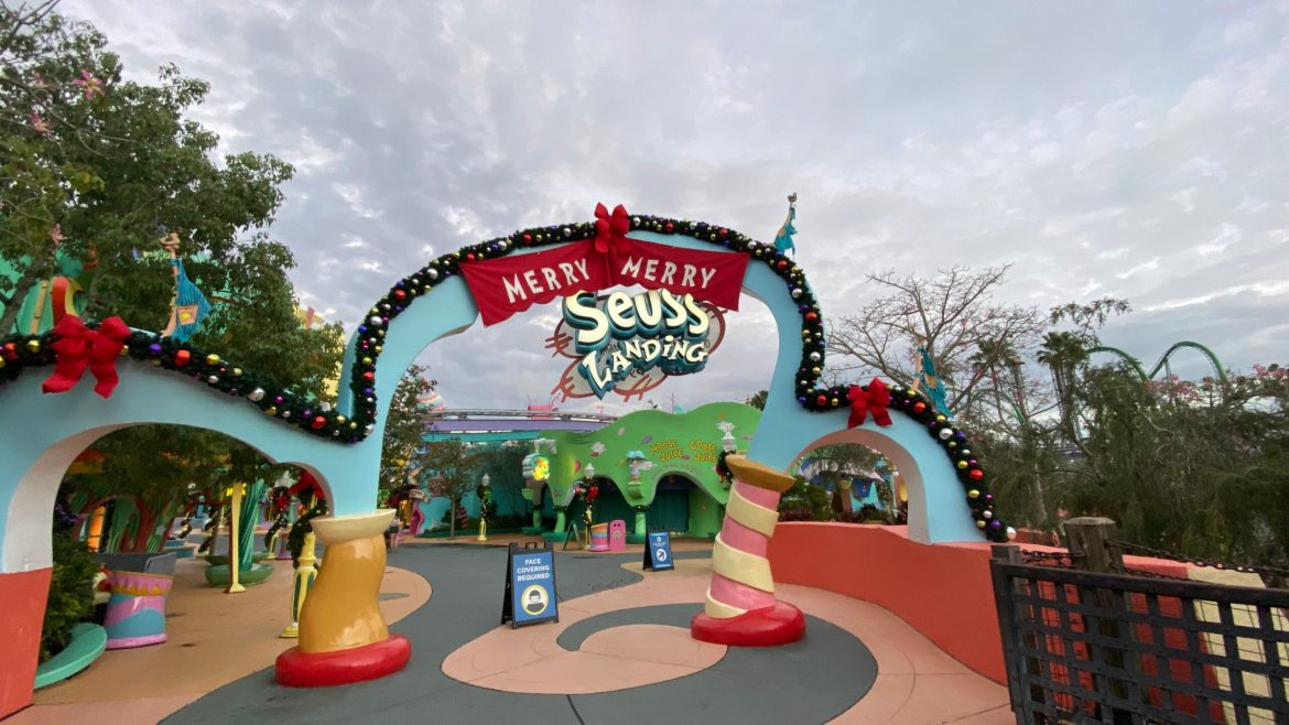Christmas has come to Whoville in Universal Studios Orlando