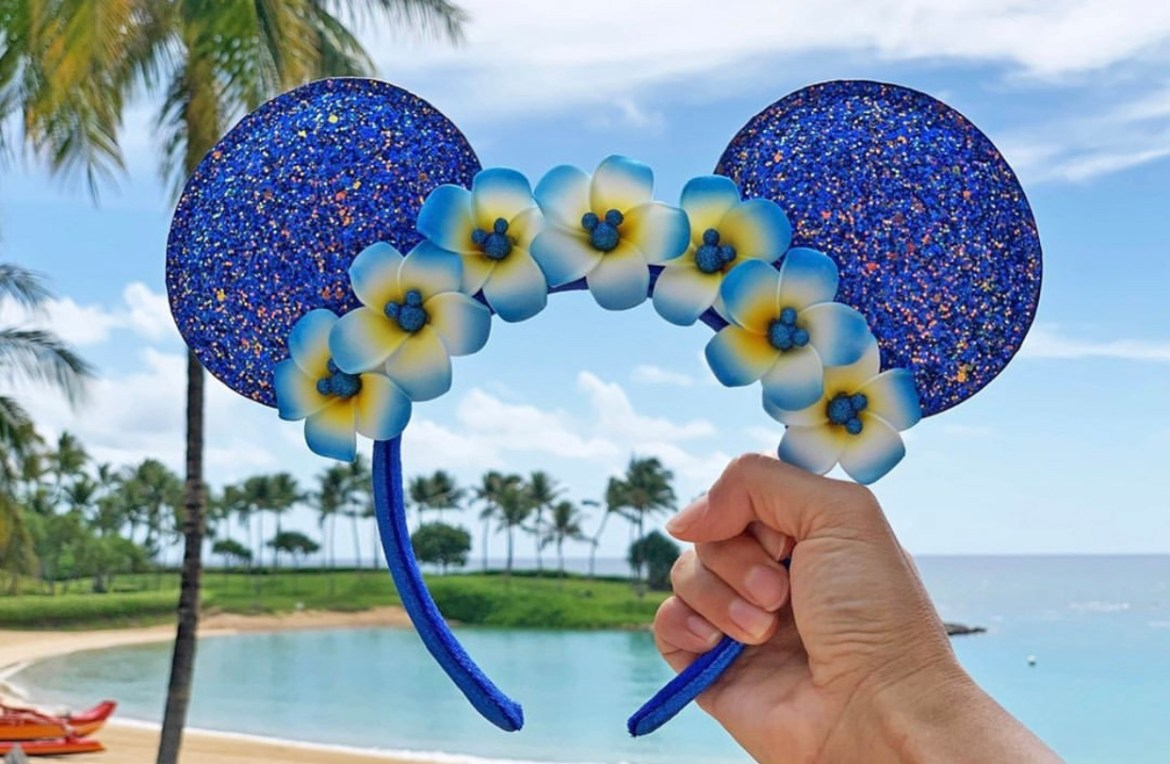 New Wishes Come True Blue Aulani Ears to support Make a Wish