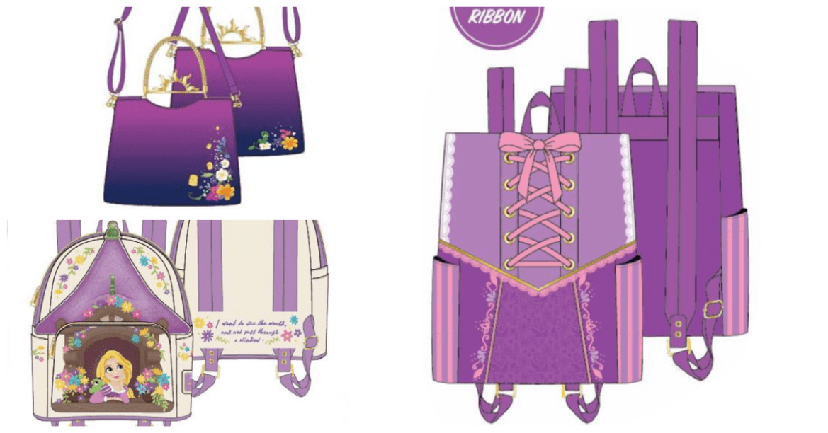 Stunning Rapunzel Loungefly Collection Is A Dream Come True
