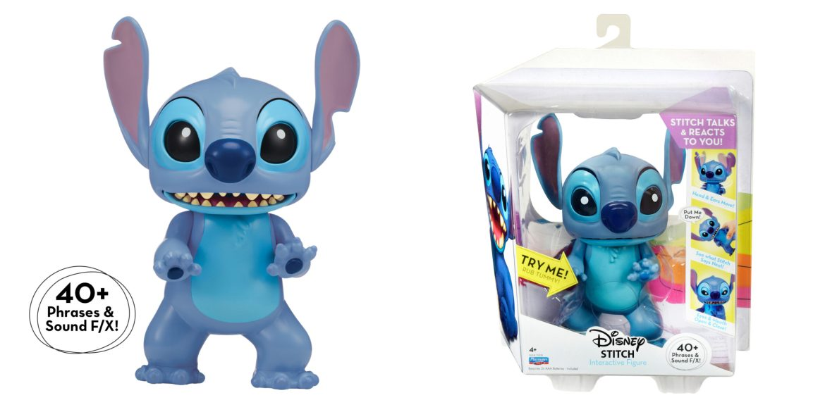 New Interactive Stitch Figure From Playmates Toys Coming to Walgreens