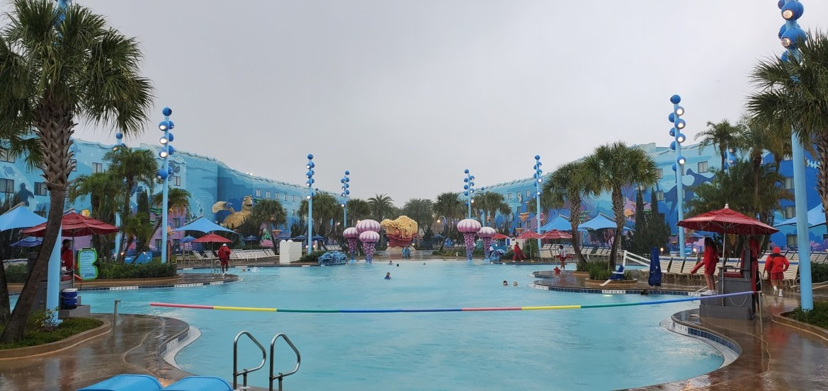 Big Blue Pool at Disney's Art of Animation will be closing for refurbishment