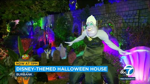Must See: Spooky Disney-themed Halloween House in California