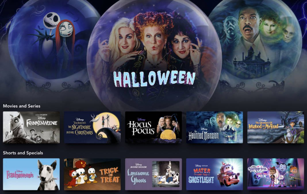 Celebrate Hallowstream! With this Spooktacular Collection of Halloween Movies and Shows on Disney+
