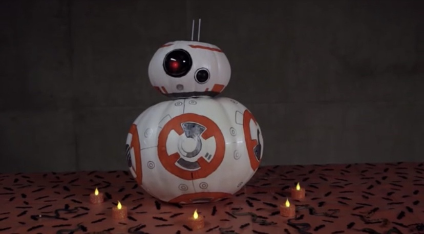 Make Your Own BB-8 Pumpkin For Halloween!