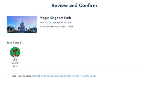 Still availability for New Years Eve Park Passes at Disney World 4