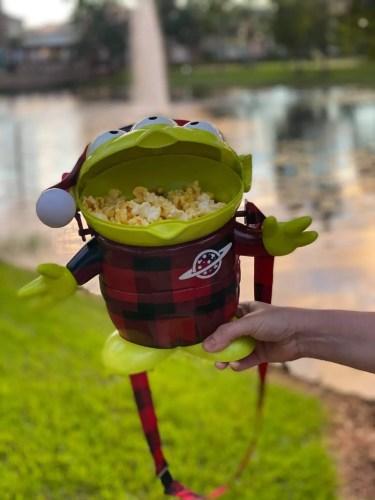Buffalo Plaid Toy Story Alien returns to Disney World 1