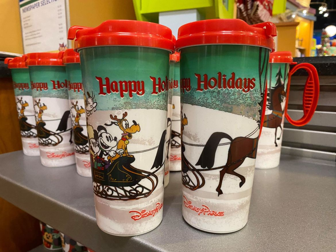 Disney Resort Holiday Mugs Have Jingled Into Town
