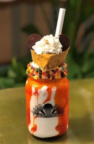 Salted Caramel Pumpkin Pie Milkshake at Beaches & Cream 1