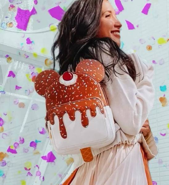 Mickey Ice Cream Backpack