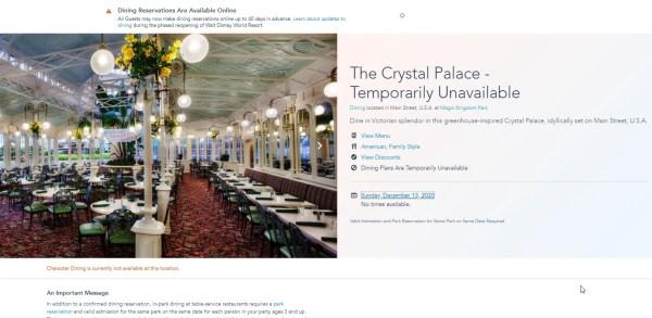 Three Disney World Dining Spots reopening at the Magic Kingdom and Hollywood Studios 4
