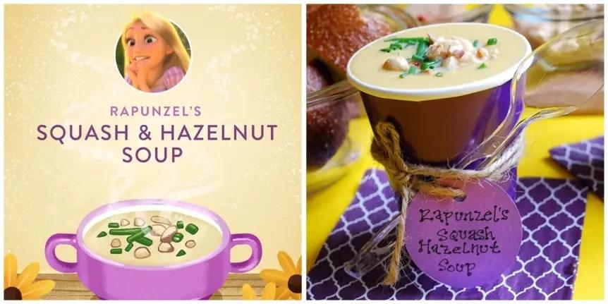 Rapunzel's Squash And Hazelnut Soup Recipe!