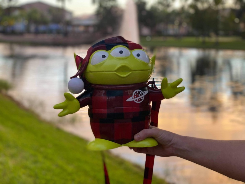 Buffalo Plaid Toy Story Alien returns to Disney World