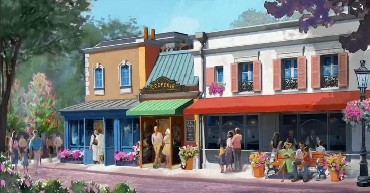 EPCOT's La Creperie de Paris Will Open in 2021!