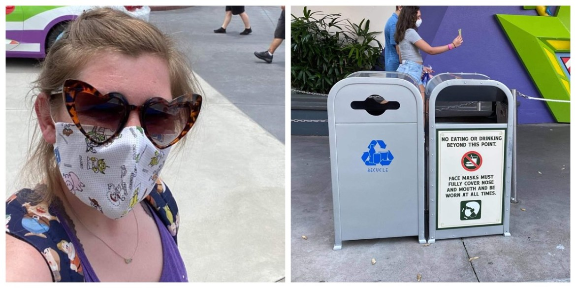 Disney World updates Face Mask Policy to include no eating or drinking in line
