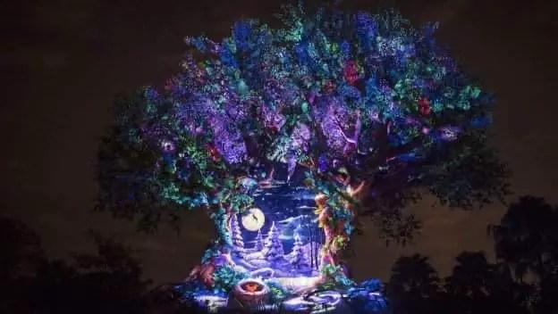 Tree of Life Holiday Projections return to Disney's Animal Kingdom