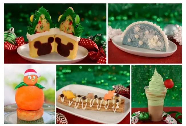 Tasty Treats to Celebrate the Holidays at Walt Disney World