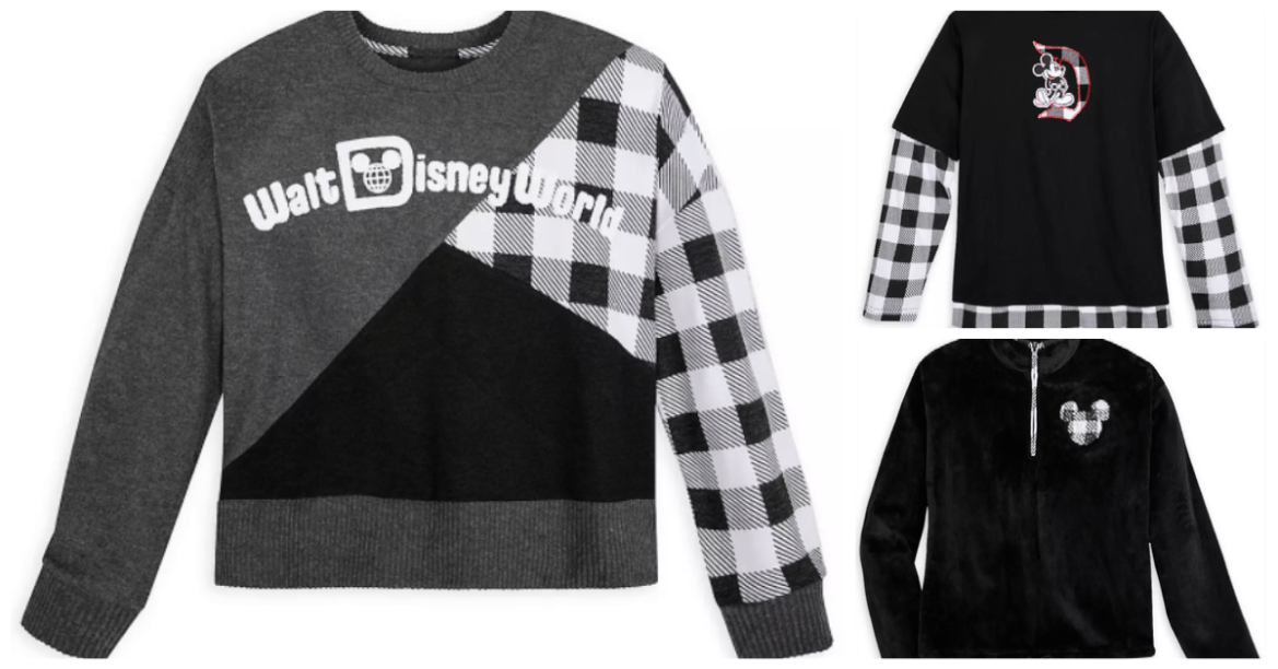 The New Black and White Disney Collection Is Rad In Plaid!