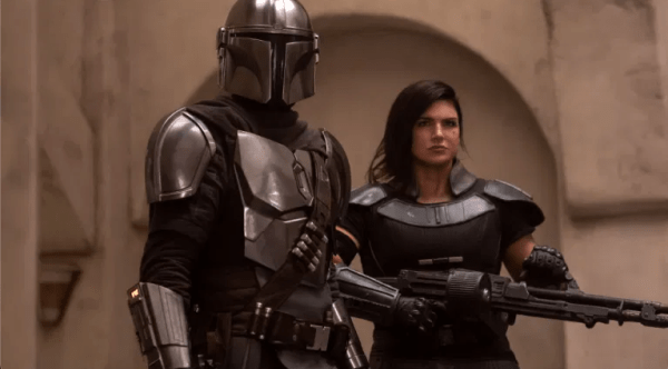 Pedro Pascal Posts Supportive Photo for Gina Carano to Instagram 1