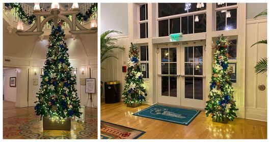 Christmas decorations delight guests at Disney's Beach Club Resort 1