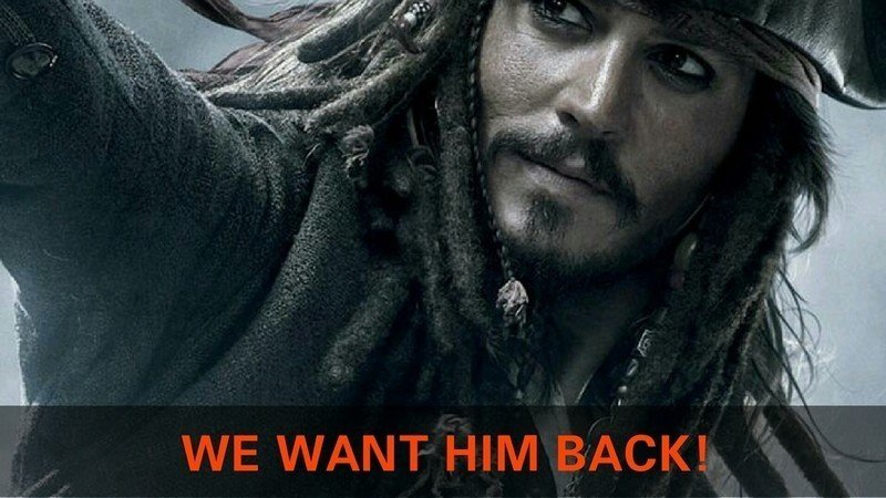 Petition Reaches 400K Signatures for Johnny Depp to Keep Role as Captain Jack Sparrow in 'Pirates of the Caribbean' Reboot