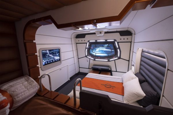 Look inside the cabins at the Star Wars Galactic Starcruiser Hotel 3