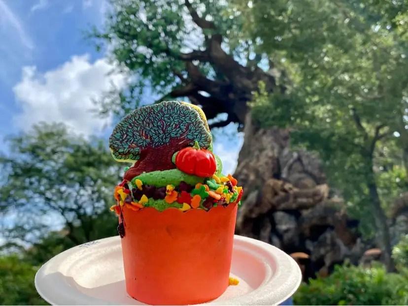 New Tree Of Life Cupcake In Disney's Animal Kingdom Celebrates All Things Fall!
