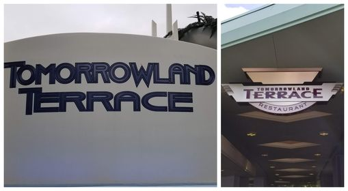 Tomorrowland Terrace will be serving up lunch from Columbia Harbour House