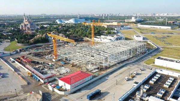 Construction Photos of the metropolis of Zootopia from Shanghai Disney Resort 2