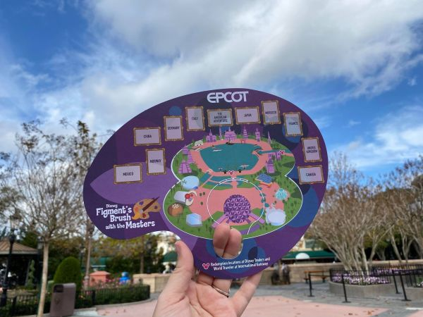 Figment's Brush with the Masters returns to EPCOT Festival of the Arts 1