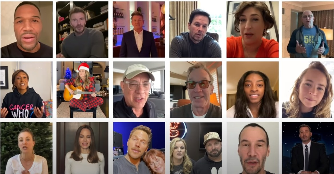 Gary Sinise hosts Virtual Snowball Express with some major celebrities