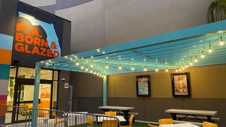 Everglazed Donuts in Disney Springs Expected to open SOON!