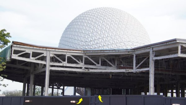 Construction in Epcot