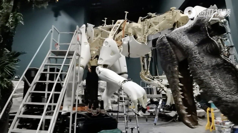 First Look at the Jurassic World Dinosaur Animatronics coming to Universal