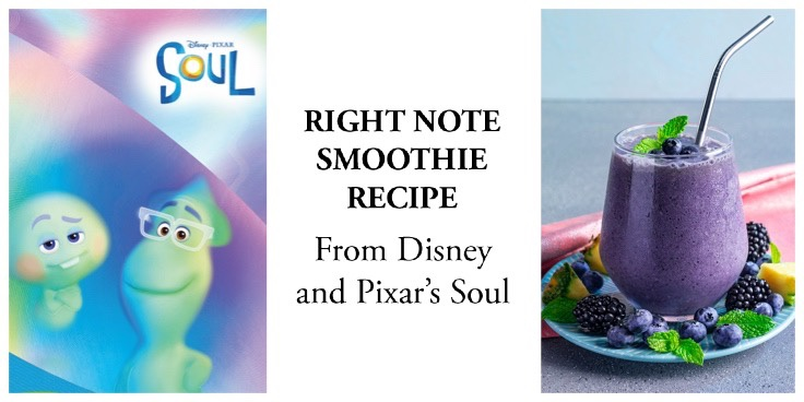 Right Note Smoothie Recipe From Disney & Pixar's Soul!