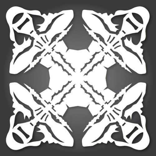 Make your own Star Wars Paper Snowflakes 11