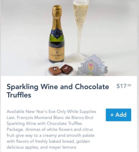 New Year's Eve Wine & Truffles Package Available at Disney World Hotels 1