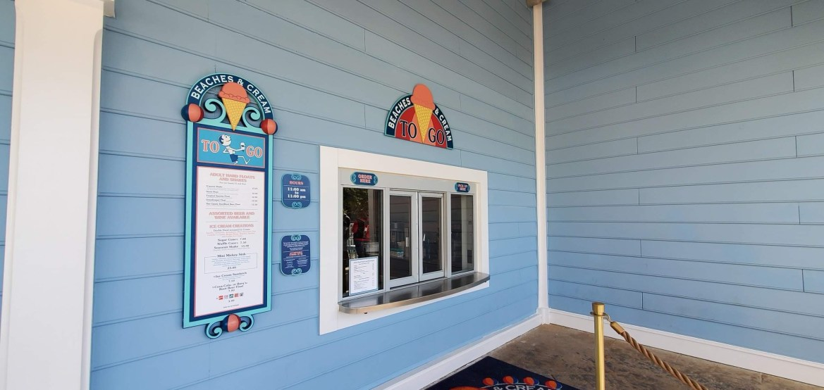 Beaches & Cream Soda Shop To-Go Counter Is Currently Closed