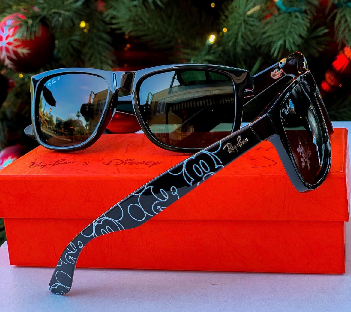 Sleek New Mickey Ray-Ban Sunglasses Are An Artistic Vision Of Character