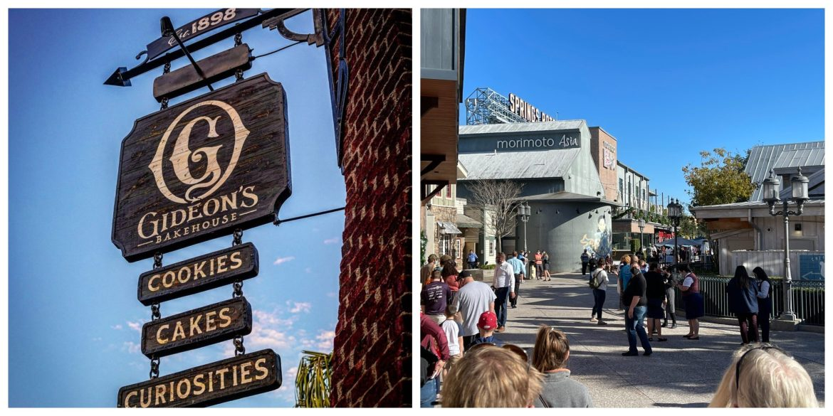 Gideon's Bakehouse in Disney Springs Now Open with 3 hour wait