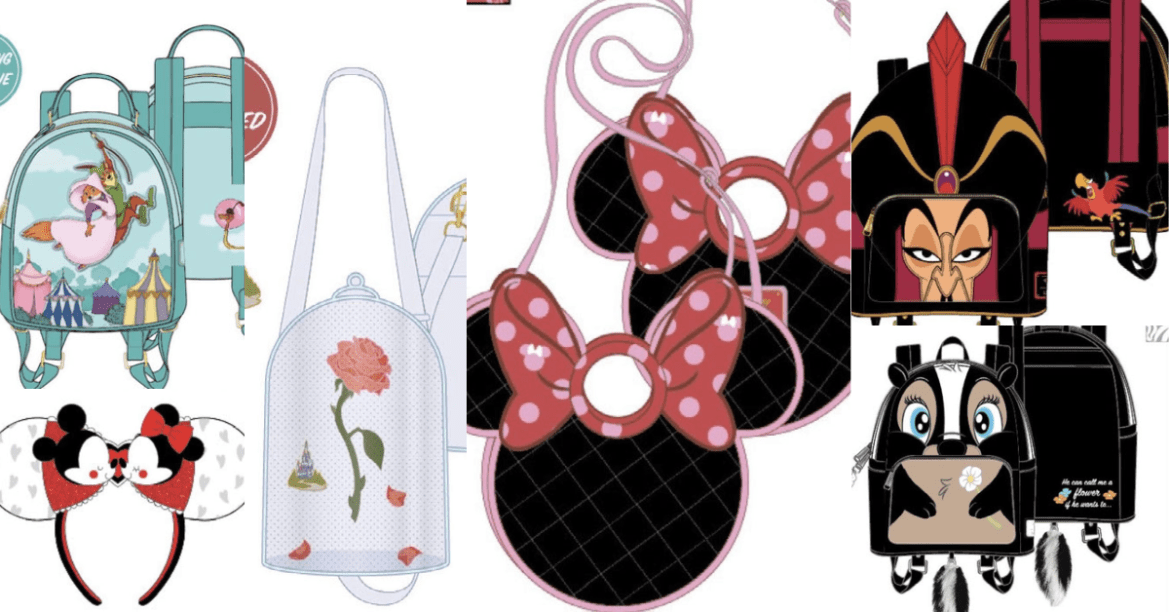 Disney Loungefly Collection For January Has Been Revealed