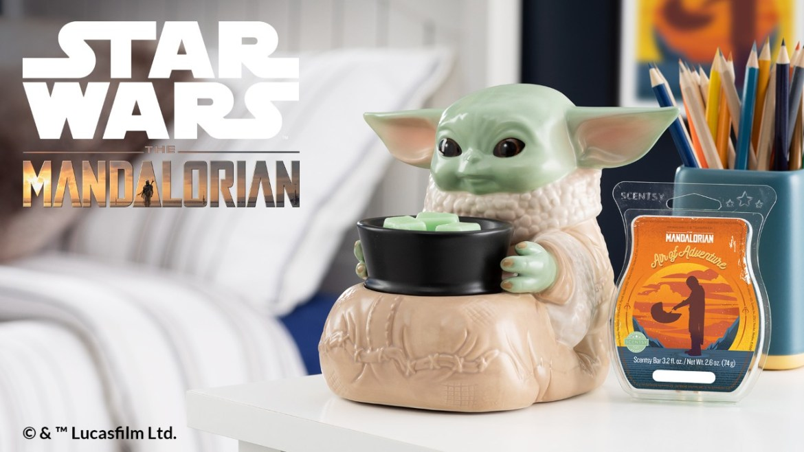 "Announcing a new Star Wars™ ""The Child"" Scentsy Warmer"