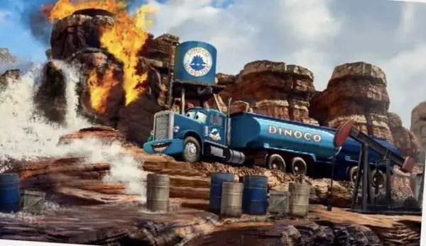 Disneyland Paris unveils new images Cars Route 66 Road Trip 1