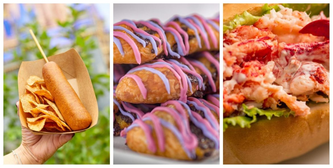 New and Returning Fan Favorite Food Items now available at the Magic Kingdom