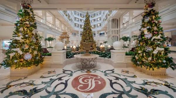 Walt Disney World Resort Hotels Celebrate the Holidays 1